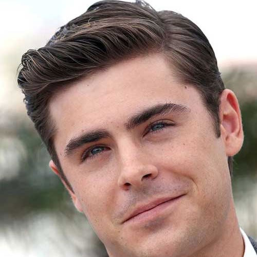 Zac Efron Comb Over