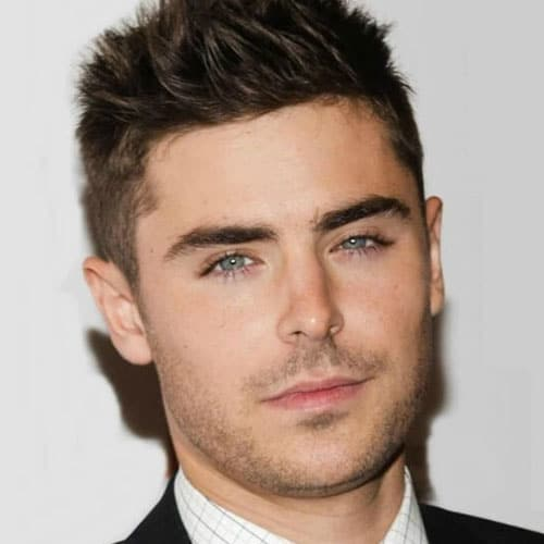 Remarkable, Men s hairstyles short zac efron are