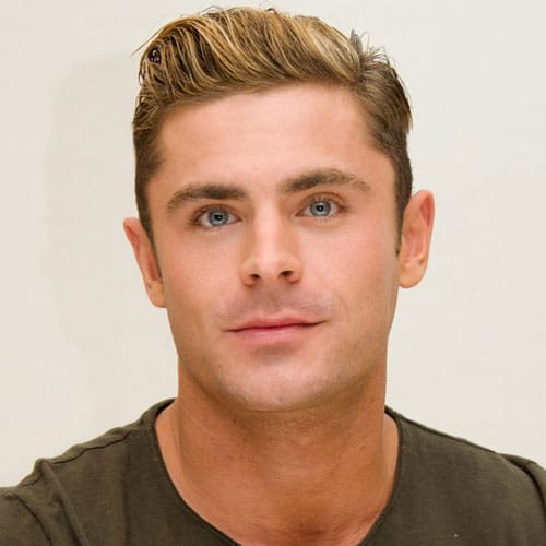 Zac Efron Quiff Haircut