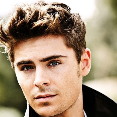 Zac Efron Short Hair - Messy Hair + Longer Sides