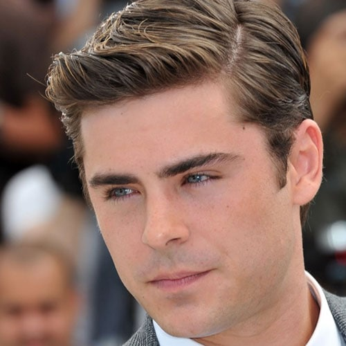 Zac Efron Side Part