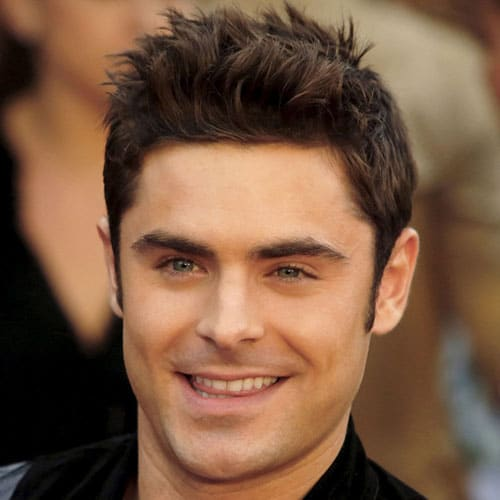 Zac Efron Spiky Hair