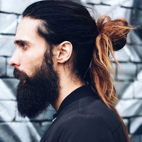 Best Man Bun Styles