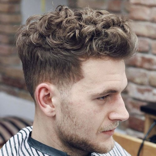 Curly Quiff For Men