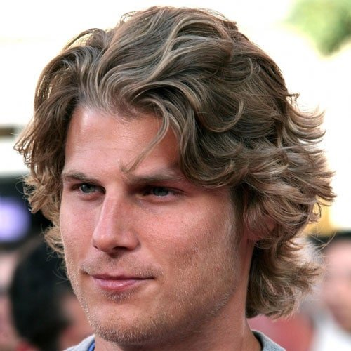 Medium Length Curly Hair For Men