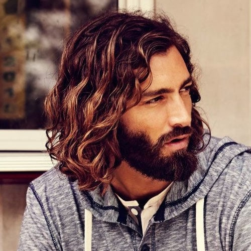 Medium Length Curly Hairstyles For Men