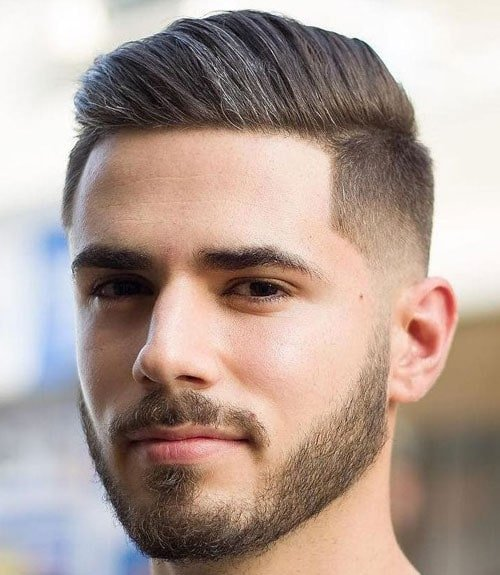 Men's Comb Over Haircut