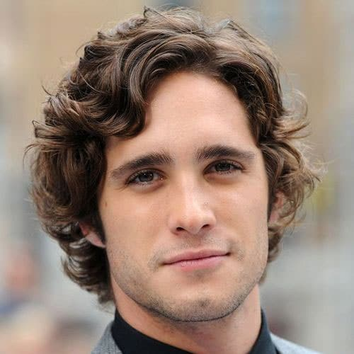 Best Curly Hairstyles For Men  Mens Haircuts