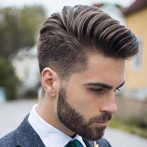 Best Men's Haircuts For Thick Hair - Comb Over
