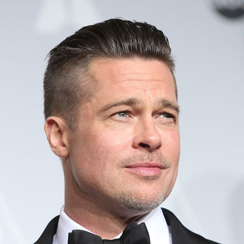 Hairstyles for Square Faces - Slicked Back Undercut