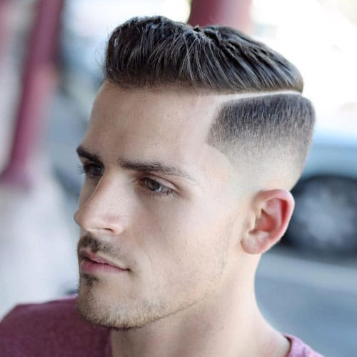 Hard Side Part Fade