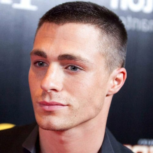 Men's Short Hairstyles For Thick Hair - Buzz Cut