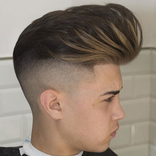Big Pomp + Undercut Fade + Line Up