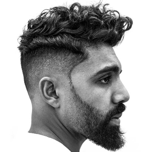 Curly Pompadour