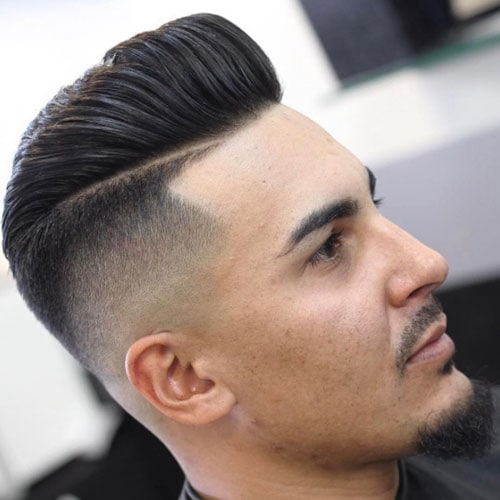 How To Do A Pompadour