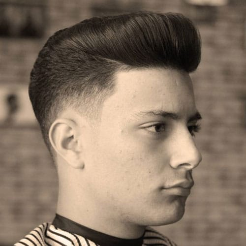 Low Fade Pompadour