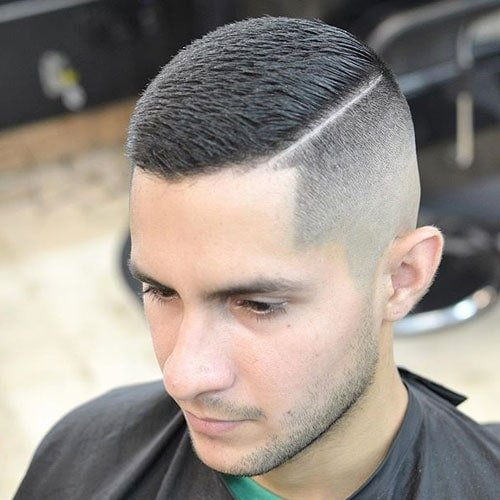 Brush Cut Fade