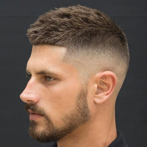 27 Best Crew Cut Haircuts For Men 2019 Guide