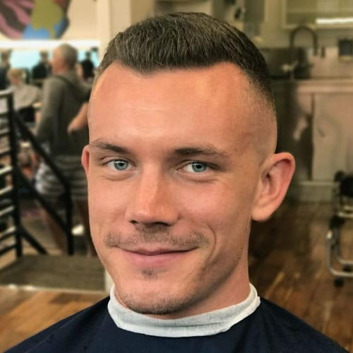 17776f2dd 27 Best Crew Cut Haircuts For Men (2019 Guide)