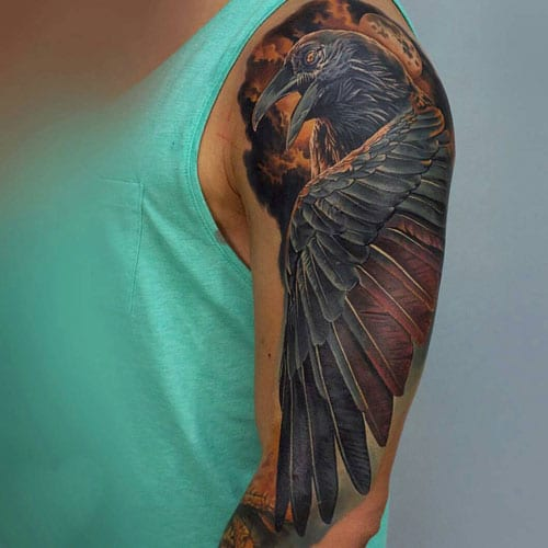Amazing Upper Arm Tattoo Designs