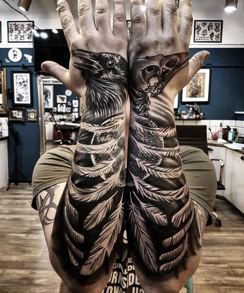 Badass Arm Tattoos