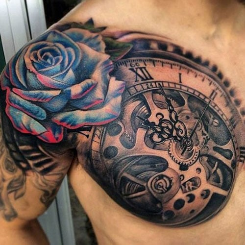 Badass Rose Tattoos