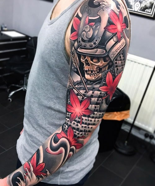 Badass Samurai Tattoos