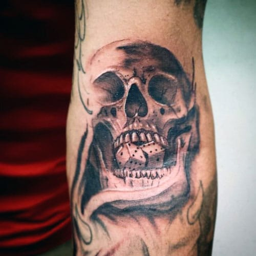Badass Skull Tattoos For Guys