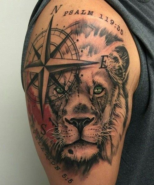 Badass Upper Arm Tattoos For Guys