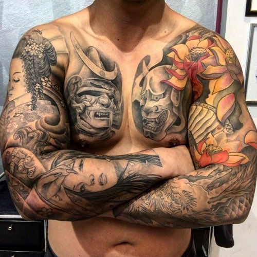 Cool Body Tattoos For Men