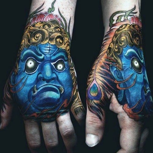 Creative Hand Tattoo For Guys