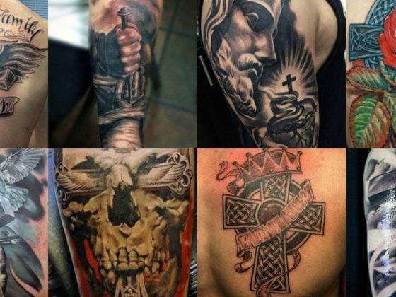 Cross Tattoos For Men - Best Christian Designs