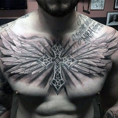 101 Best Cross Tattoos For Men 2019 Guide