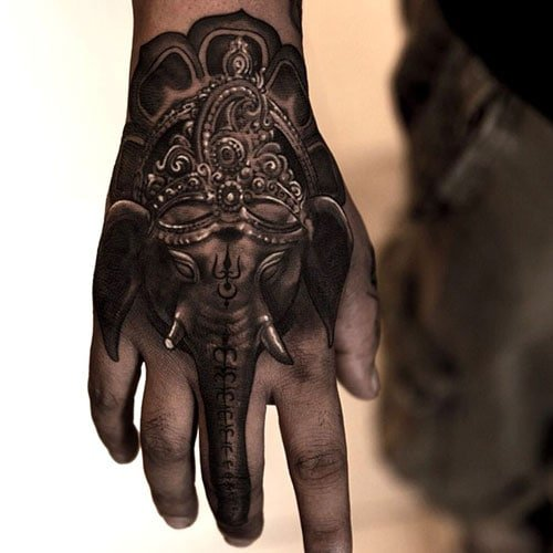 Tattoo Designs For Men Hand: 101 Best Hand Tattoos For Men: Cool Ideas + Designs (2019