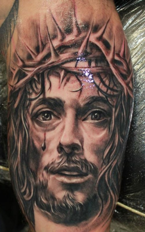 Jesus Christ Tattoo For Men