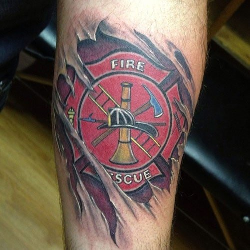 Malteserkreuz Tattoos