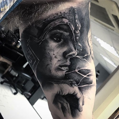 Masculine Bicep Tattoos For Men