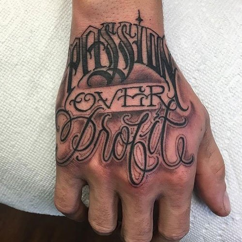 Meaningful Unique Hand Tattoos