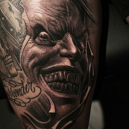 Scary Badass Tattoo Designs