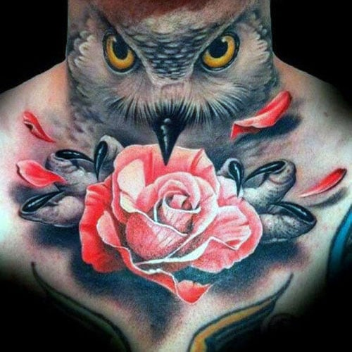 Best Men's Rose Tattoos