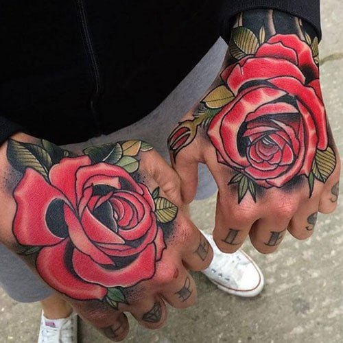 Best Rose Flower Tattoo