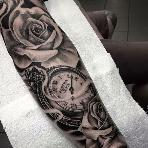 101 Best Rose Tattoos For Men Cool Designs Ideas 2019 Guide