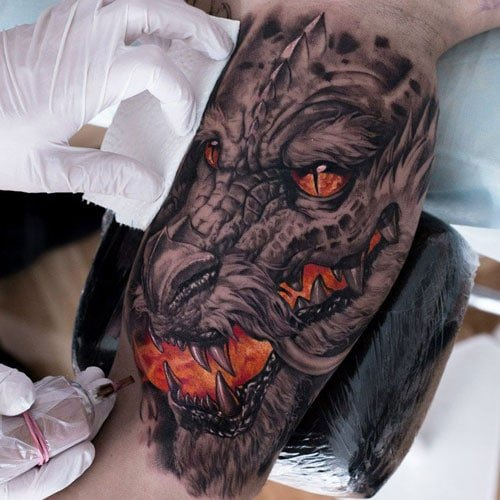 Dragon Arm Tattoo