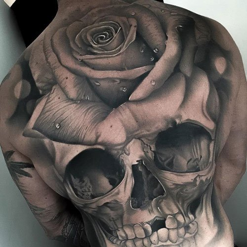 ee9aaefe0 101 Best Rose Tattoos For Men: Cool Designs + Ideas (2019 Guide)
