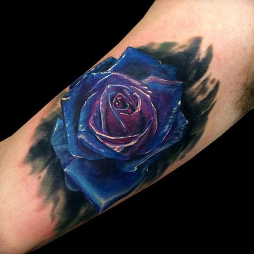 101 Best Rose Tattoos For Men 2019 Guide