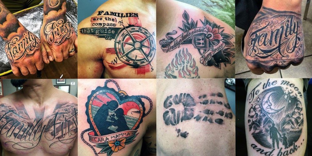 101 Best Family Tattoos For Men 2018 Mens Haircuts Hairstyles 2018