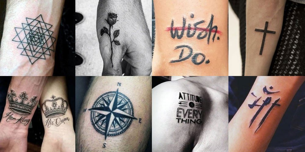 Simple and Small Tattoos For Men