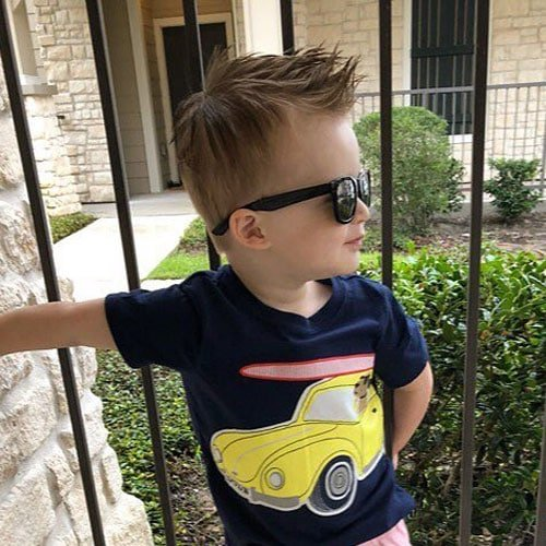 Baby Boy Hairstyles - Cute Spiky Hair