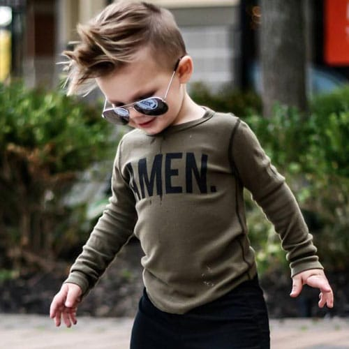 Best Baby Boy Hairstyles - Medium Length Hair For Little Boys