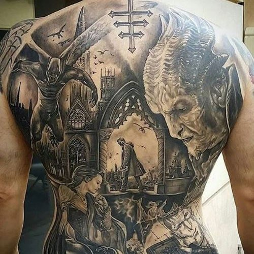 109 Best Back Tattoos For Men: 101 Best Tattoo Ideas For Men (2019 Guide